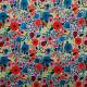 Tissu Pul imprimé PANDALOVEFABRICS  Flowers Multicolore