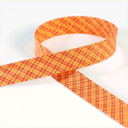 Biais ecossais Preston   Orange