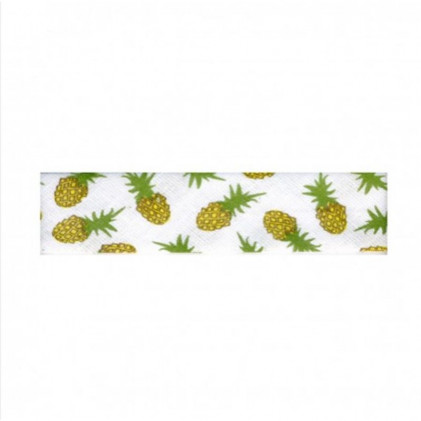 Biais Fruits 20 mm Jaune