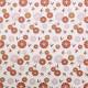 Tissu coton imprimé Noshiro Rouille