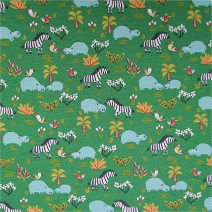 Tissu jersey Hipps Vert