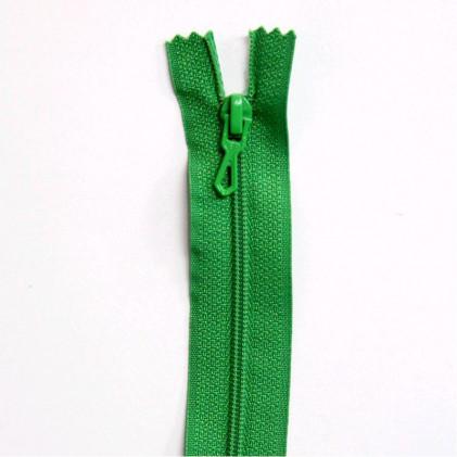 Fermeture Eclair nylon non séparable 12 cm  Vert