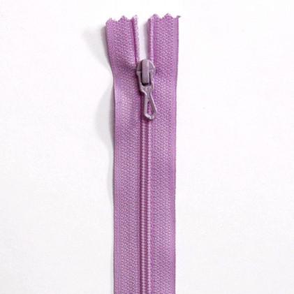 Fermeture Eclair nylon non séparable 12 cm  Violet lilas