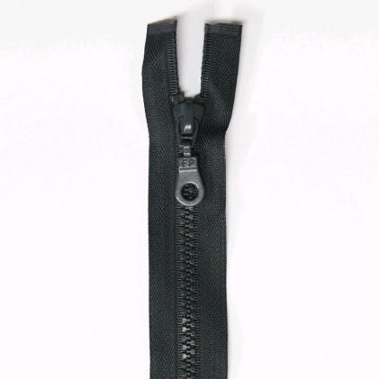 Fermeture Eclair plastique séparable 25 cm  Gris anthracite