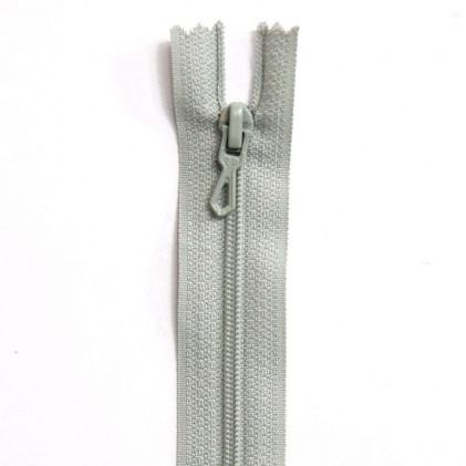 Fermeture Eclair nylon non séparable 55 cm  Vert d'eau