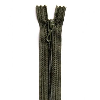 Fermeture non-séparable 10 cm Vert kaki foncé
