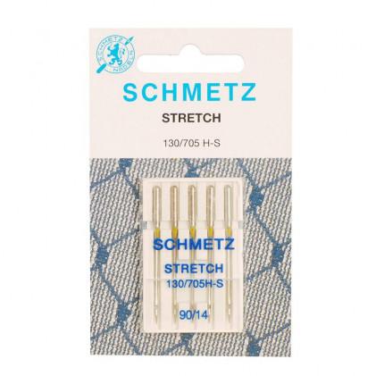Aiguilles stretch schmetz mercerie acheter tissu - Machine a coudre stretch ...