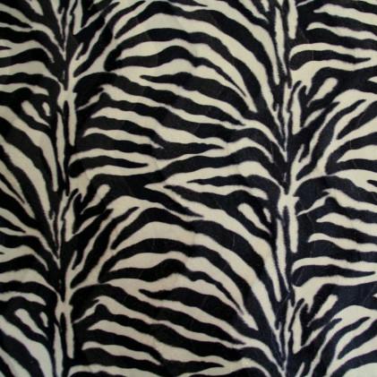 Tissu peau de b te z bre self tissus - Peau de zebre ...