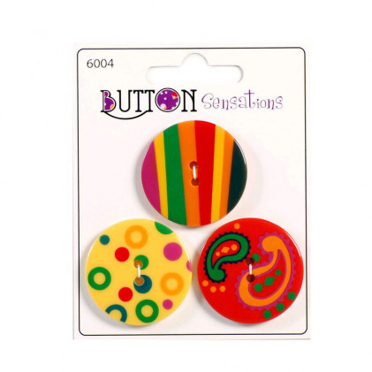 BoutonS Sensations    Multicolore Multicolore