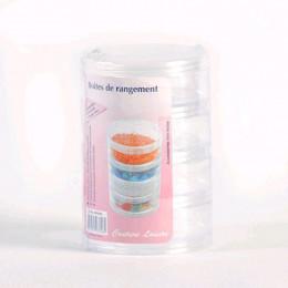 Boite de rangement 4 compartiments .