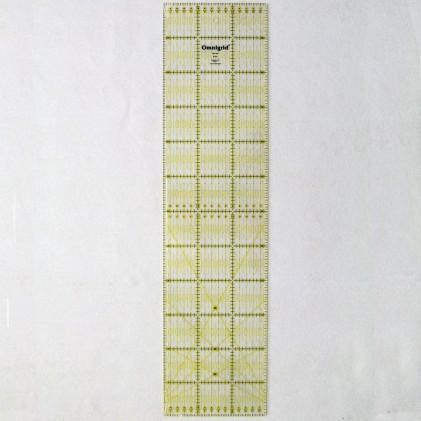 Règle patchwork Omnigrid 15 x 60 cm Transparent