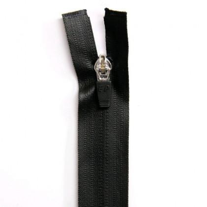 Fermeture Eclair imperméable séparable 75cm Col. 460 Noir