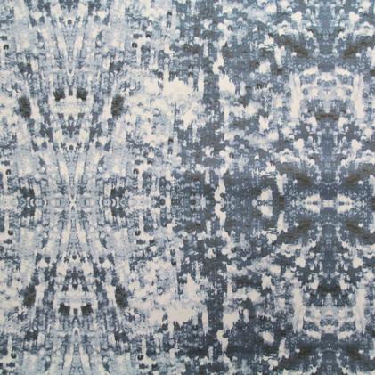 Tissu imprimé Matrix Gris
