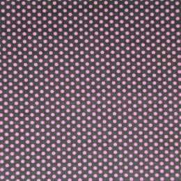 Tissu coton imprimé Pois et Etoiles