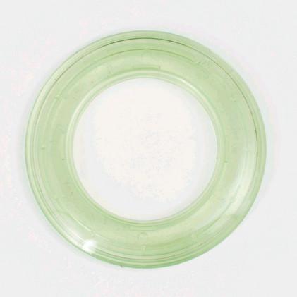 Oeillet rideau transparent 40 mm . Vert