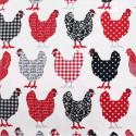 Tissu coton Label Rouge