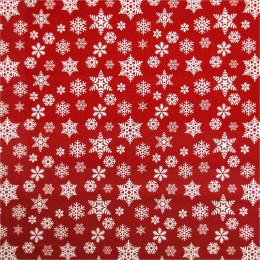 Tissu coton Noël Flocky