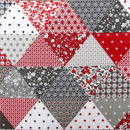 Tissu coton imprimé Gaspard