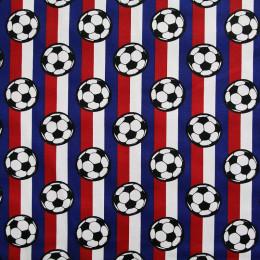 Tissu coton imprimé Football