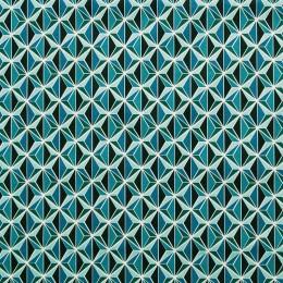 Tissu coton imprimé Kirigami