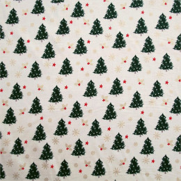 Tissu coton Noël Sapy