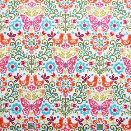 Tissu patchwork Butterflies
