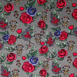 Tissu coton imprimé Roselton