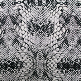Tissu satin Snake