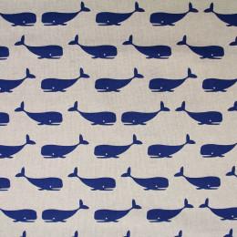Tissu imprimé Whale