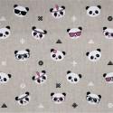 Tissu imprimé Panda