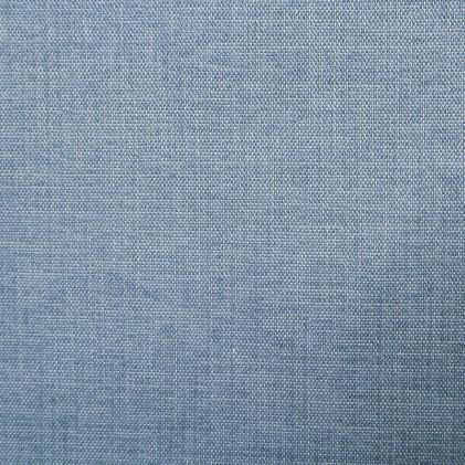 Tissu uni Raga  Bleu gris