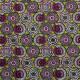 Tissu coton imprimé Soweto  Vert anis