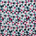 Tissu coton imprimé Multiangles