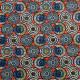 Tissu coton imprimé Soweto  Orange