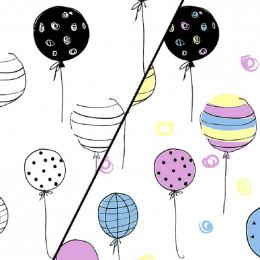 Tissu jersey magique photosensible Balloon