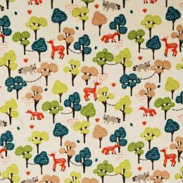 Tissu coton imprimé Oeko-Tex Forest