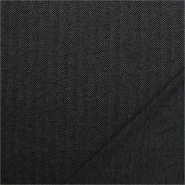Tissu tweed fin à chevrons