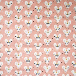 Tissu coton imprimé Oeko-Tex Coribel