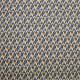 Tissu coton imprimé Oeko-Tex Spleen Bleu