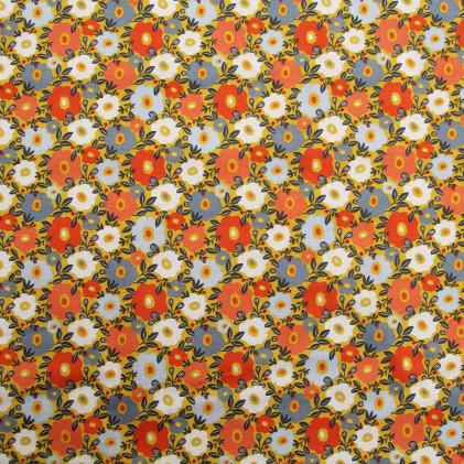 Tissu coton imprimé Camille