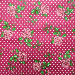 Tissu vinyl Fleurs