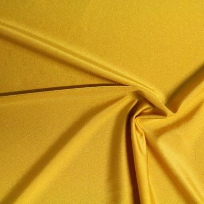 Tissu lycra Clovis   Jaune Ocre