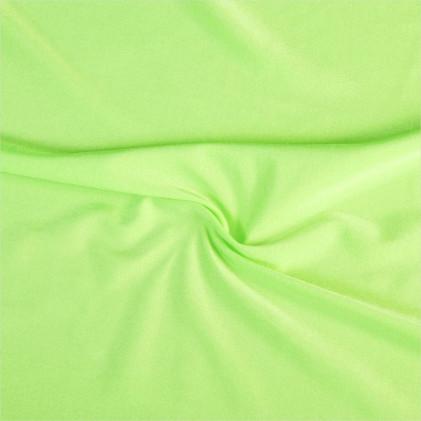 Tissu lycra Clovis   Vert fluo Vert fluo