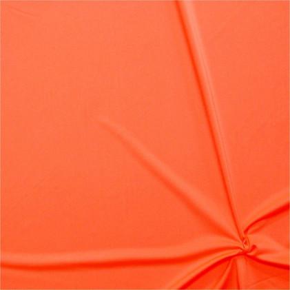 Tissu lycra Clovis   Orange fluo Orange fluo
