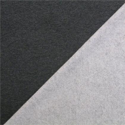 Tissu molleton jogging uni Oeko-Tex Marly