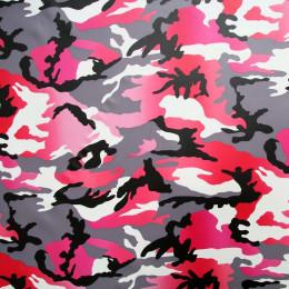 Tissu vinyl Camouflage