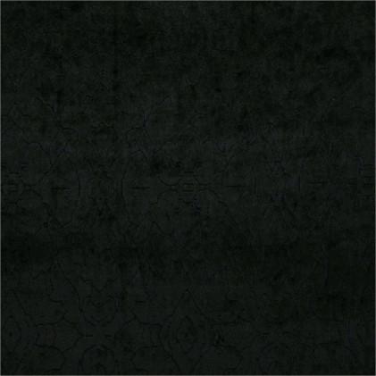 Tissu velours dévoré Rosita  Noir