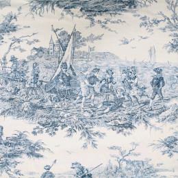 Tissu toile de Jouy Histoire d'O
