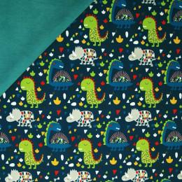 Tissu softshell-polaire Dino