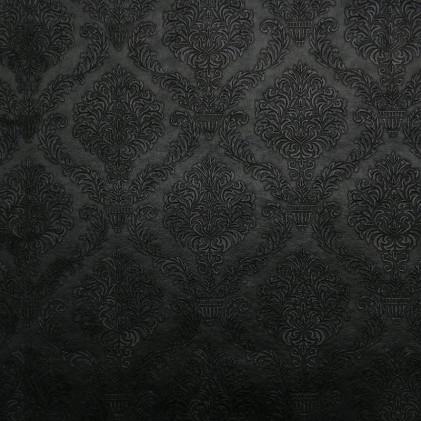 Tissu simili King  Noir